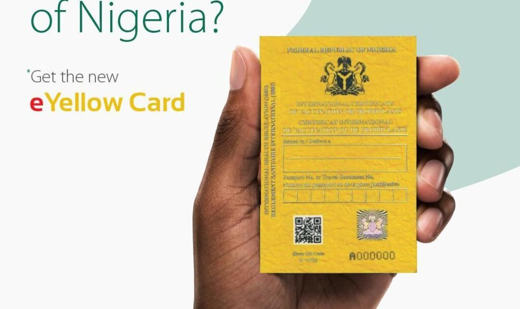 E-Yellow Card in Nigeria