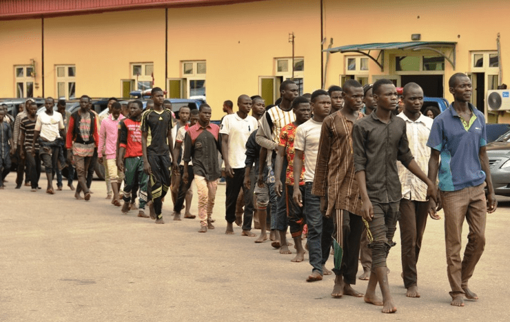 123 Northerners arrested in Lagos