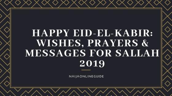 HAPPY EID-EL-KABIR WISHES
