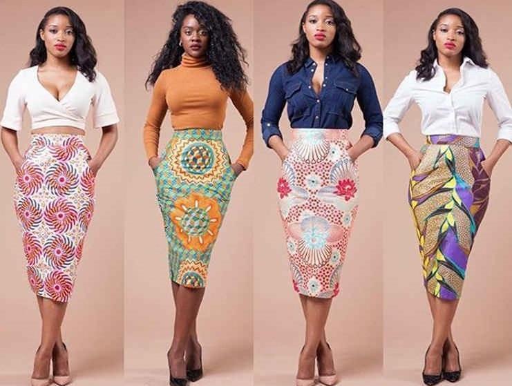 Ankara Skirt