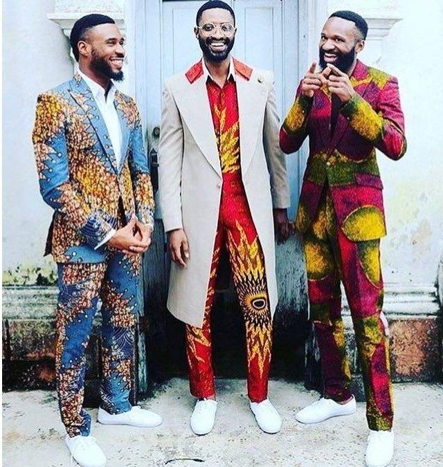 Ankara Suit for Office for men