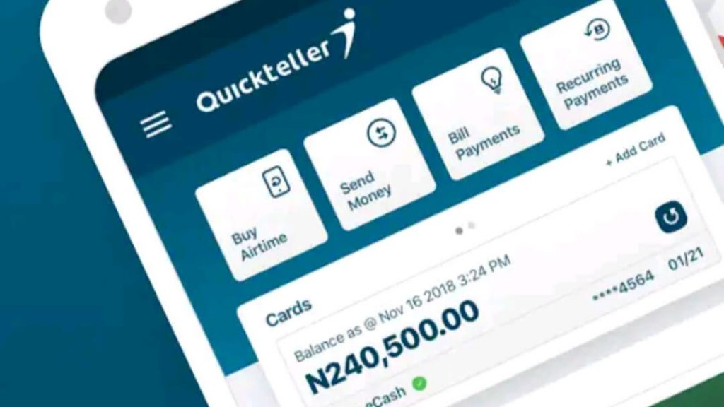 Quickteller Customer Care Number