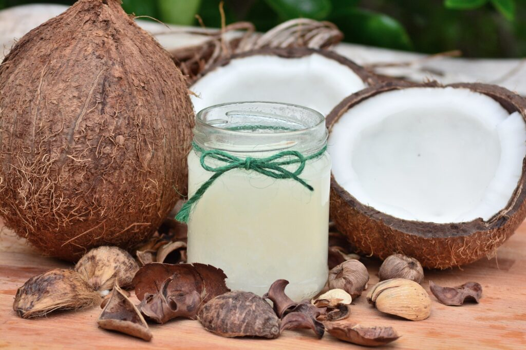 How to make coconut oil without heat