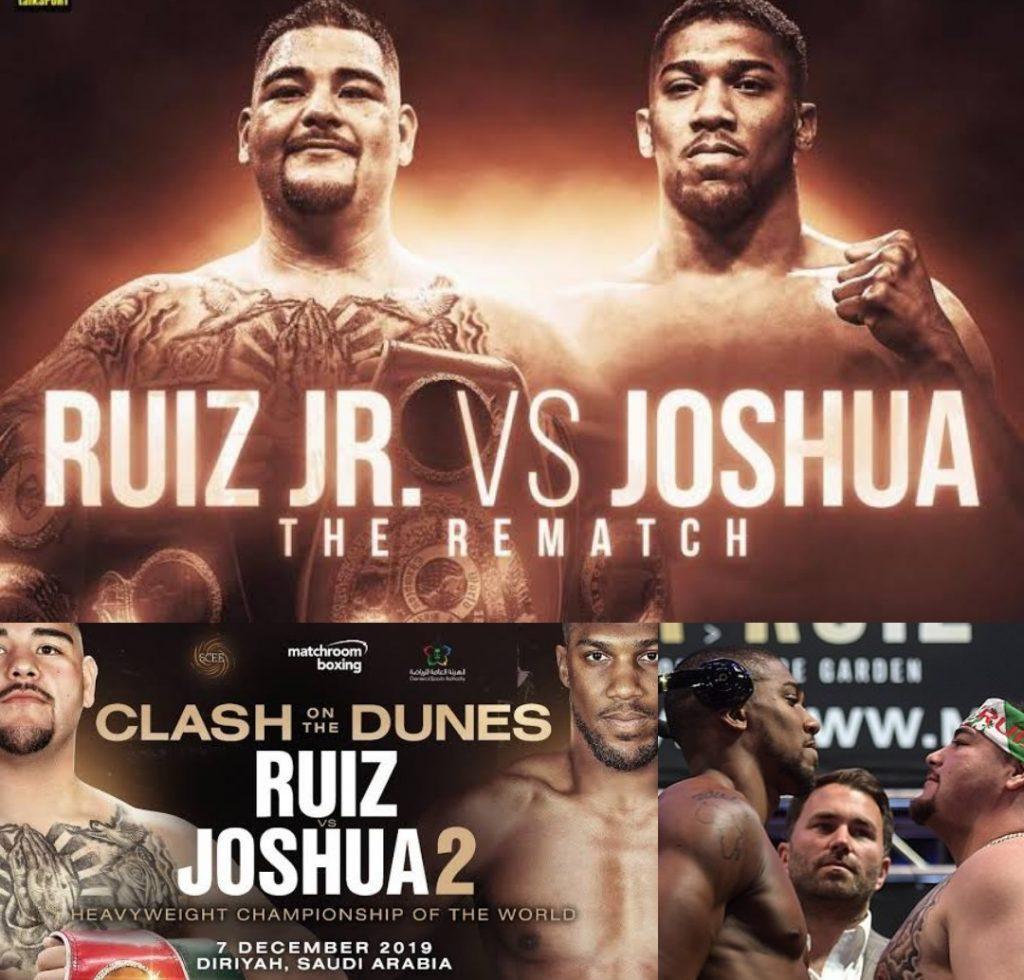 nthony Joshua vs Andy Ruiz Jr fight