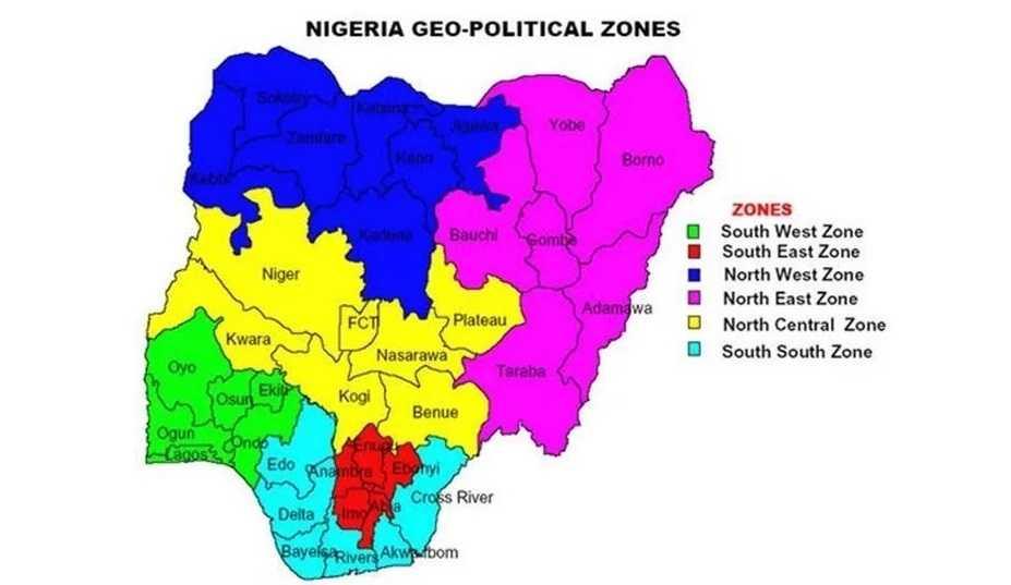 Geo-Political zones