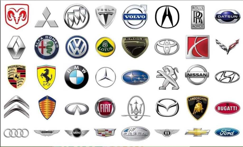 names of cars
