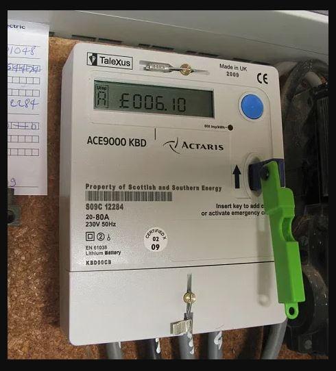 cig prepaid meter