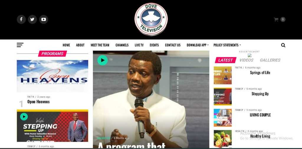 rccg convention online