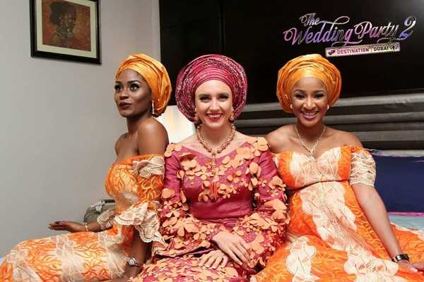 highest-grossing nigerian movies 2021 - a scene from the wedding party 2