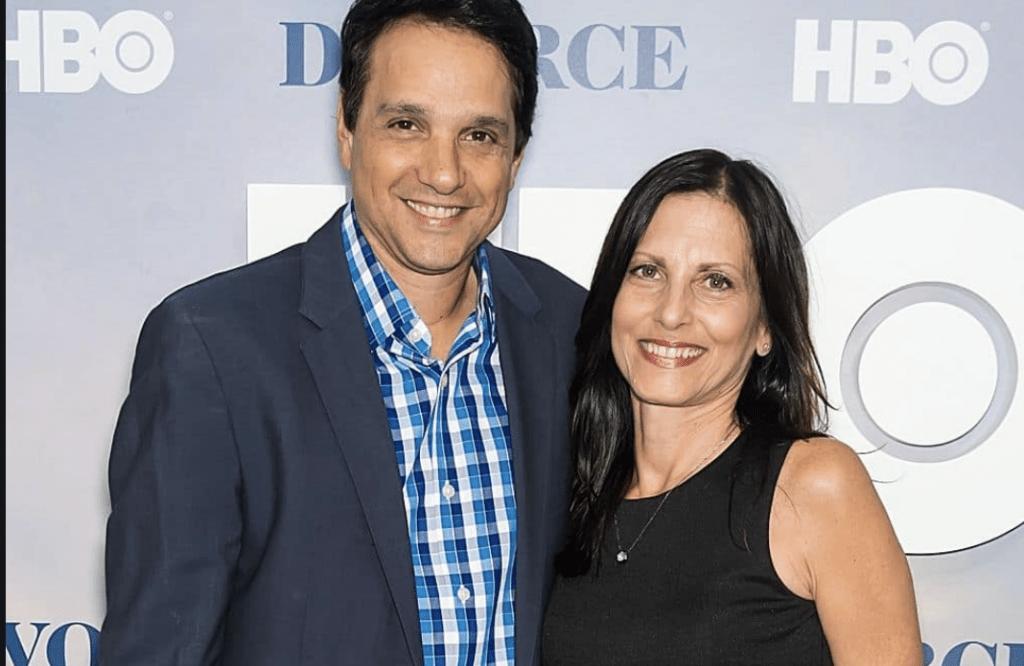Phyllis Fierro and husband