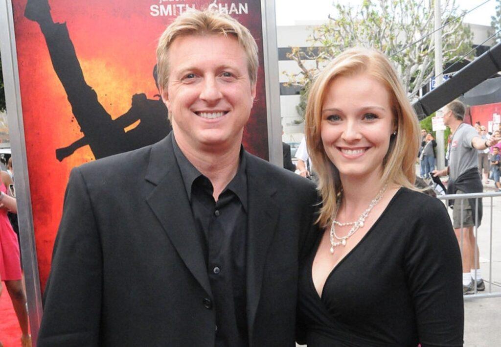 Stacie Zabka and Husband